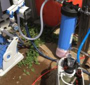 井戸水,浄水器,テスト
