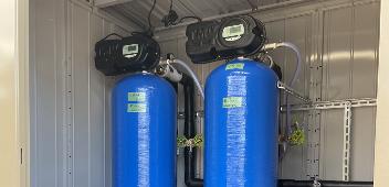 食品工場での軟水装置導入