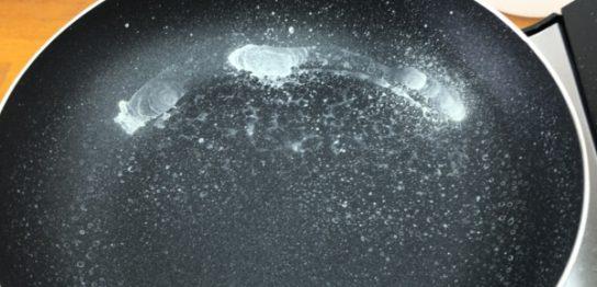 蒸発実験-水道水